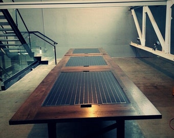 Solar Panel Conference Table