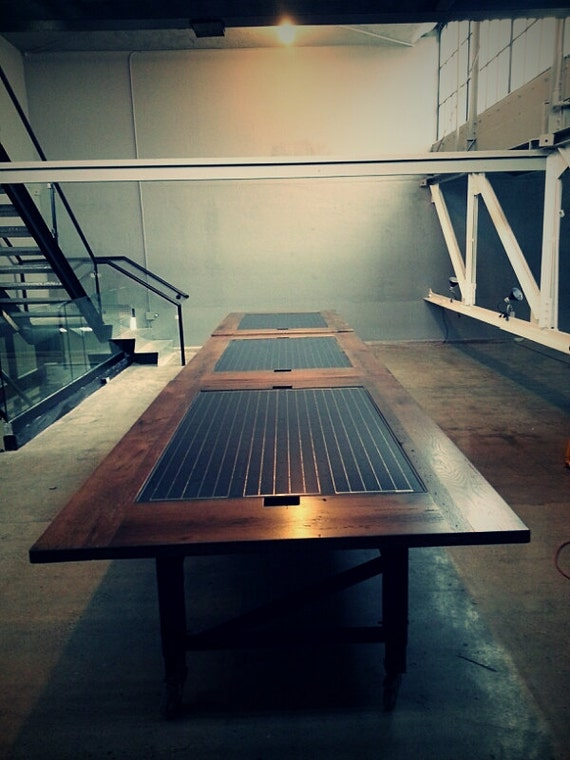 Solar Panel table on Etsy