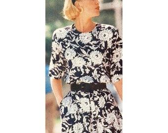Butterick Sewing Pattern 4953 Misses' Dress  Petite  Size:  A 6-14  Uncut