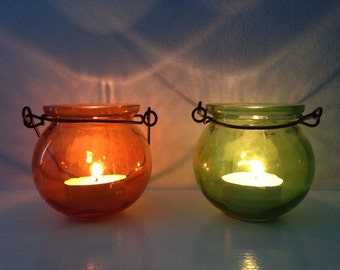 Cauldron Hanging Tealight Candle Holder- Halloween Tealight Candle Holder - Tealight Candle Holder - CAULDRONS Party Favor