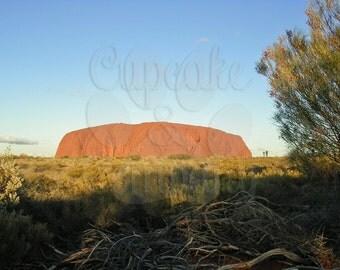 Ayers Rock (Uluru) in Australia -- Choose your Size