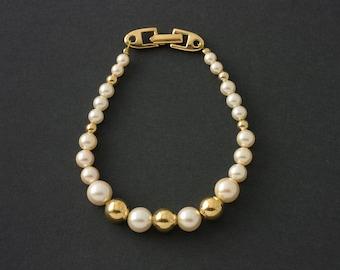 Vintage Napier Pearl Bracelet