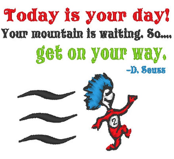 Machine Embroidery Design Of Dr Seuss
