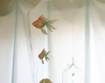 Kawaii Goldfish Mobile / Home Interior Mobile / t234941
