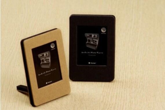 mini polaroid photo frame ivory black kraft deco. Black Bedroom Furniture Sets. Home Design Ideas