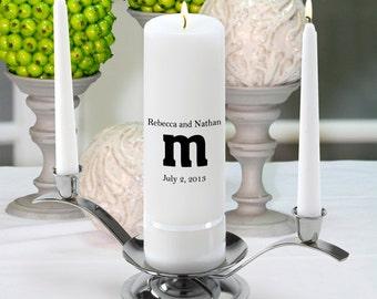 Monogram Wedding Candle - The Smith - GC330 MG10
