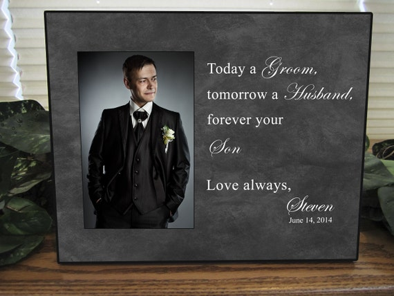 Engagement Gifts From Parents Of The Groom : Parents Wedding Gift, Parents of the Groom, Father of the Groom Gift ...