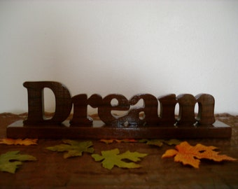 Dream Word Art Design with Base
