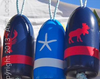 Lobster Buoys of Freeport Maine