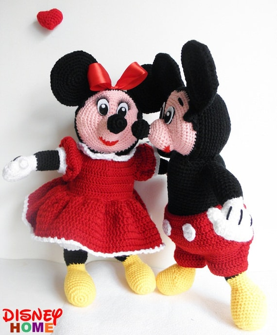 Items similar to Disney Mickey and Minnie Mouse 22 inches ...