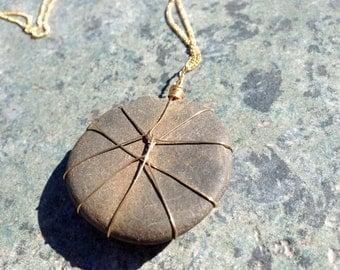 Round river stone