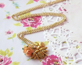 Honey to the Bee Necklace