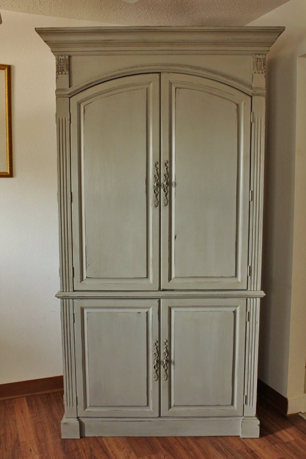 Painted Armoire Annie Sloan Chalk Paint Entertainment
