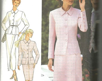 Misses church mother of the bride suit pattern by Style 2700 uncut 8 - 18