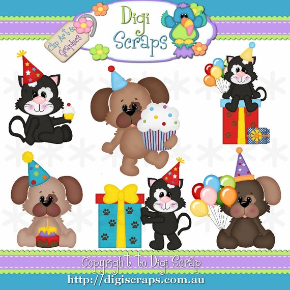 clipart dog birthday - photo #43