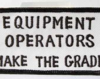 Heavy Equipment Operator Shirts on Komatsu Heavy Equipment Jacket Patches