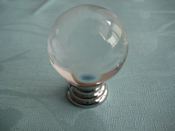 clear crystal ball knobs dresser drawer knobs pulls handles. Black Bedroom Furniture Sets. Home Design Ideas