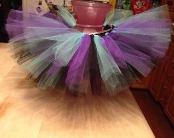 Rockstar tutu, rockstar, infant tutu, infant, turquoise tutu, purple tutu, birthday tutu, photo prop
