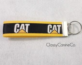 CAT Inc. Equipment Key Fob Wristlet Keychain
