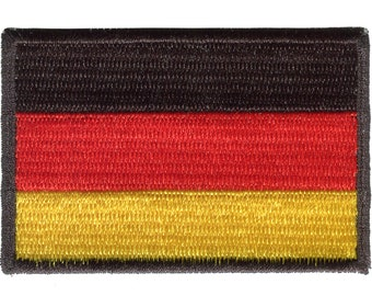 German Flag Embroidered Patch Badge Germany Football World Cup