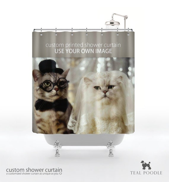 Items Similar To Custom Printed Shower Curtain Use Your Own Image On Etsy