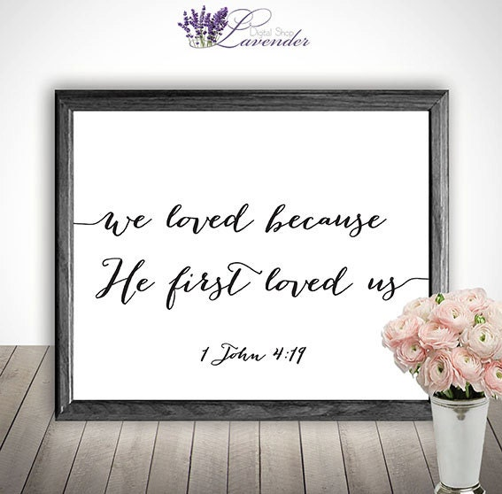 Wall Decor With Bible Verses : Printable home decor bible verse wall art