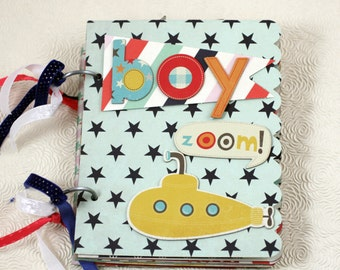 BOY  Scrapbook Album
