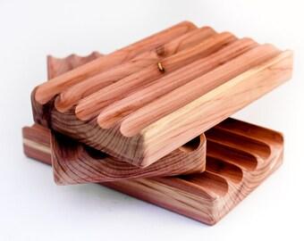 Eastern Red Cedar Wooden Soap Saver