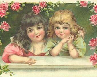 694 Vintage Victorian Children Images