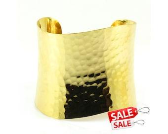 Gold Cuff Bracelet Gold Bracelet Cuff Hammered Brass Cuff Bracelet Brass Bracelet Cuff Wide Cuff Bracelet Gold Hammered Bracelet Cuff 102