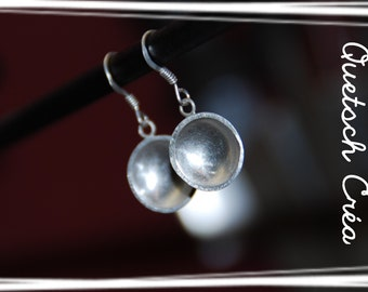 "Earrings ""Silver Cup"""