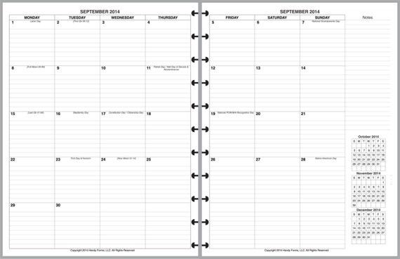 """... for """"Martha Stewart Discbound Planner 2016"""" – Calendar 2015"""