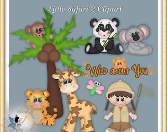 Little Safari 2 Clipart