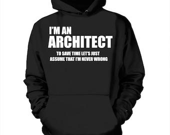 ich bin ein architekt sweatshirt geschenk f r architekt. Black Bedroom Furniture Sets. Home Design Ideas