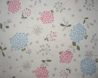 Linen Fabric Lilac in 2 Colors By The Yard