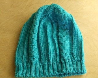 Turquoise baby Hat
