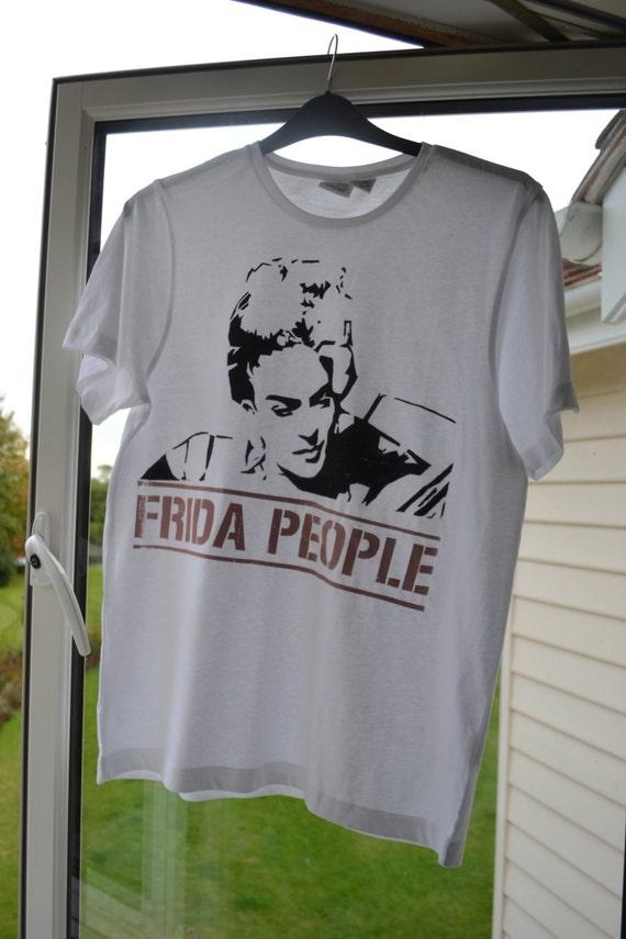 Fair Trade Frida Kahlo T Shirt By Dishyvicar On Etsy