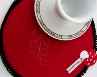 MugRugs, Coasters, decoration on furniture