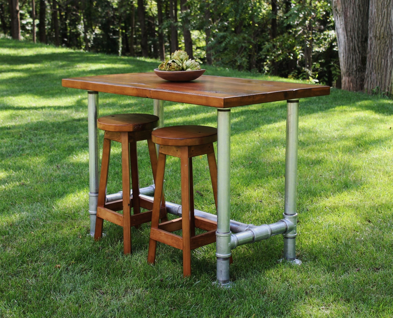 farm table kitchen island industrial farmhouse table kitchen island with 2 matching 17520