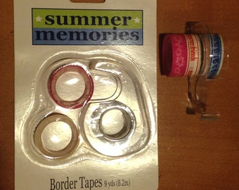 Summer Memories Border Tapes