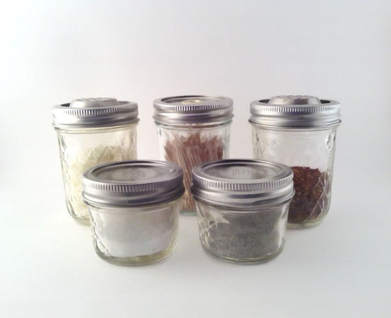 Quilted mason jar kitchen set for Quilted kitchen set