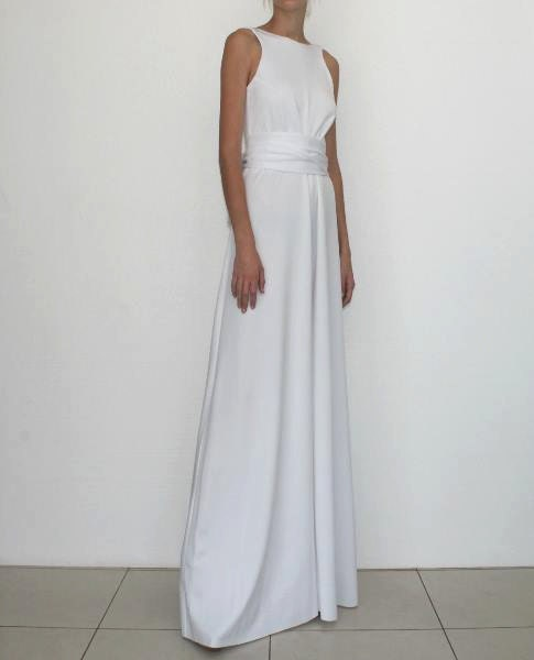 Open back elegant and chic designer jumpsuit from high quality - Jumpsuit hochzeit ...