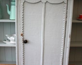 vintage French Red Cross wall cupboard