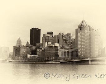 Architecture Photography - Pittsburgh Cityscape