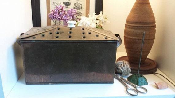Vintage Copper Steamer Pot, Wood Stove Humidifier - Vintage Copper Steamer Pot Wood Stove Humidifier