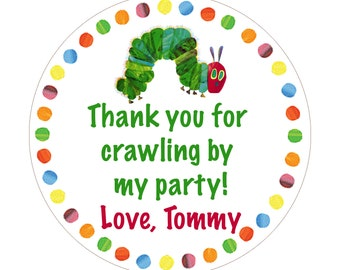Very Hungry Caterpillar Party Printables - Digital Files