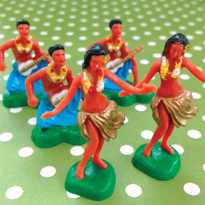 Polynesian Cake Toppers