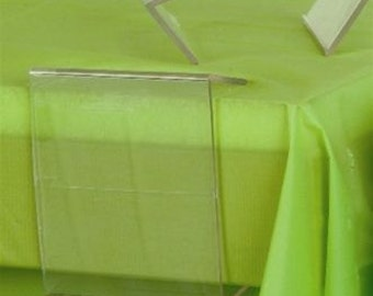 Clear Plastic Table Cover Table-Cloth Clips, 12-Piece