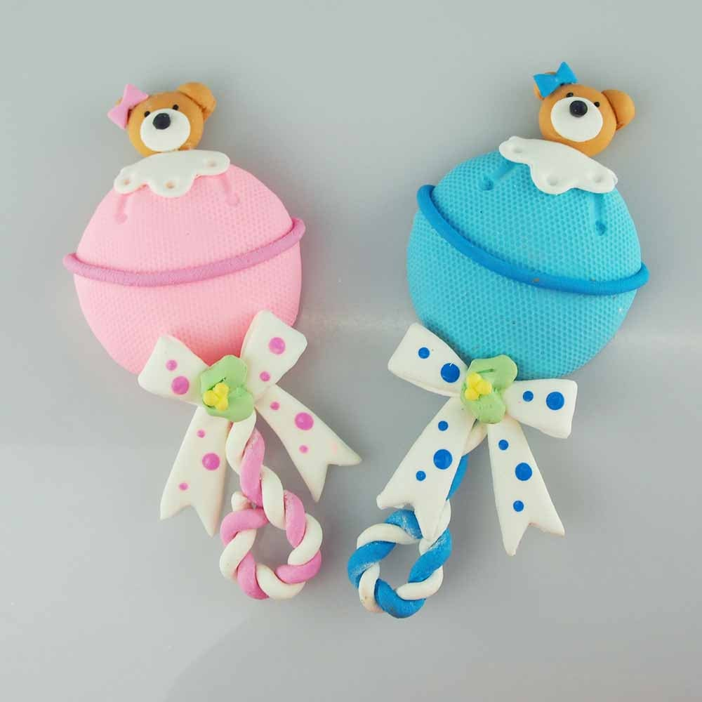 migajon baby shower decoration baby rattle by partyspin on etsy