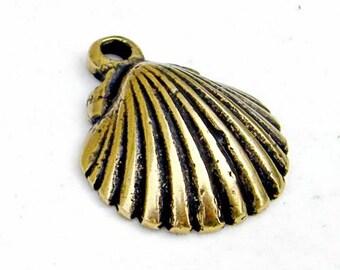 Scallop Pendant / Pilgrim badge - [00 Jako-Musch 2/G1 E-8]